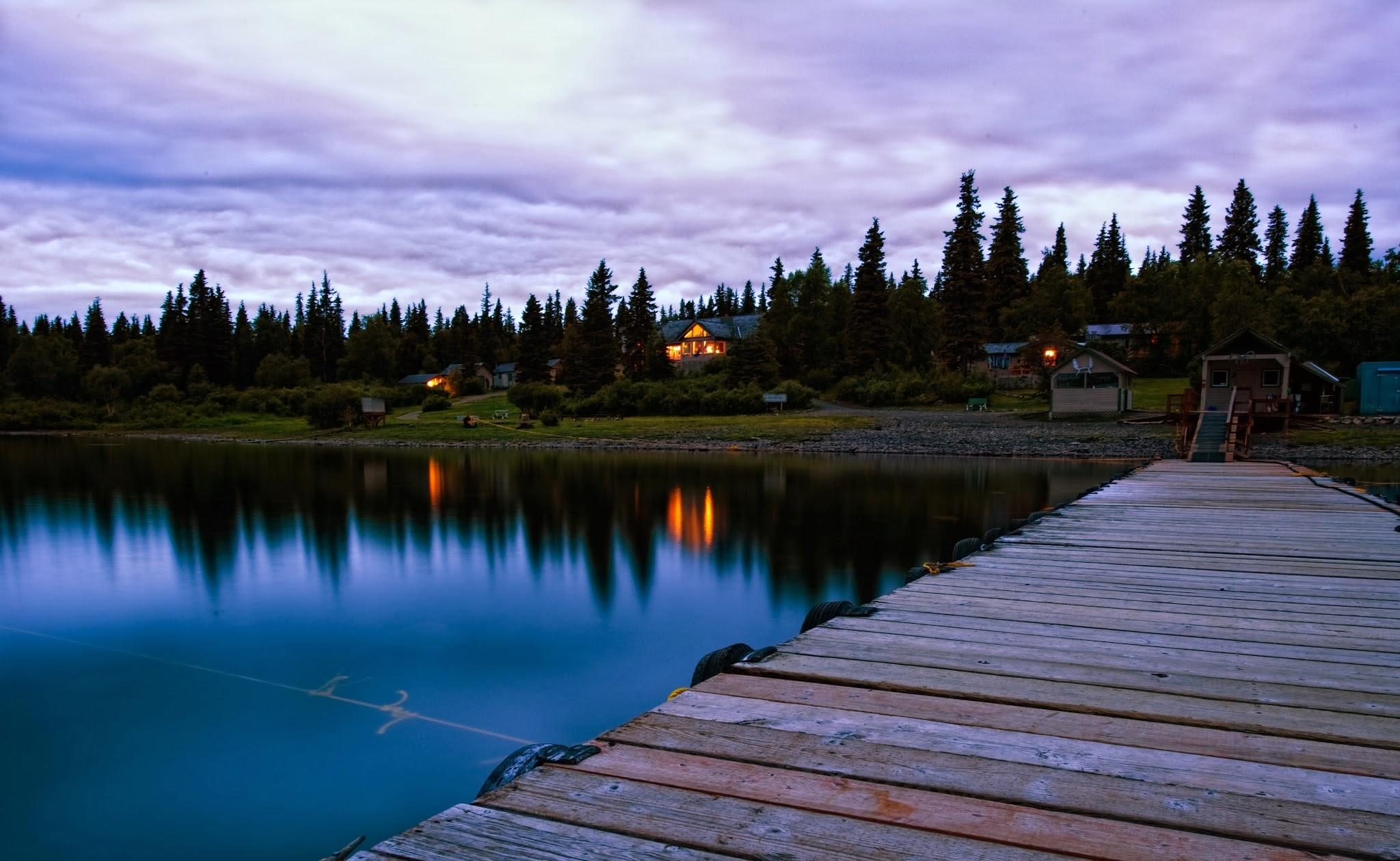 Fishing lodges for Alaska fishing camps
