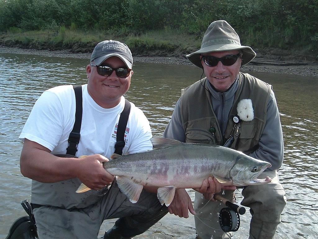 Salmon and arctic char for Alaska fishing lodge