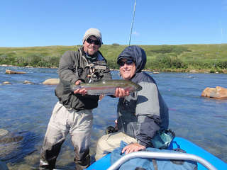 Rainbow Trout on float trip