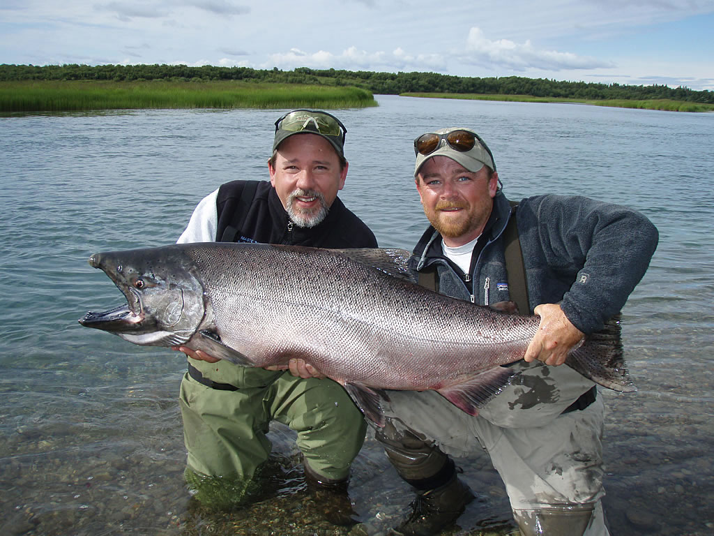 alaska king salmon fishing gallery