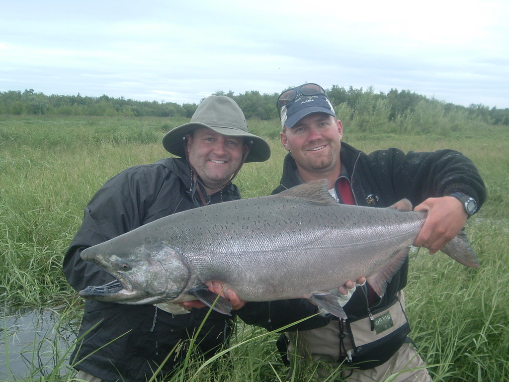 Alaska Salmon Fishing Trips