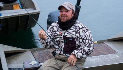 Guide Jeff Talks Kvichak Rainbows